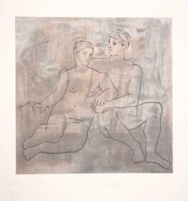 20: Pablo Picasso, Le Entretien, Lithograph