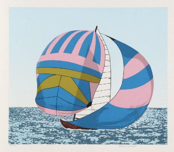 7: Alvaro Guillot, Love Boat, Lithograph
