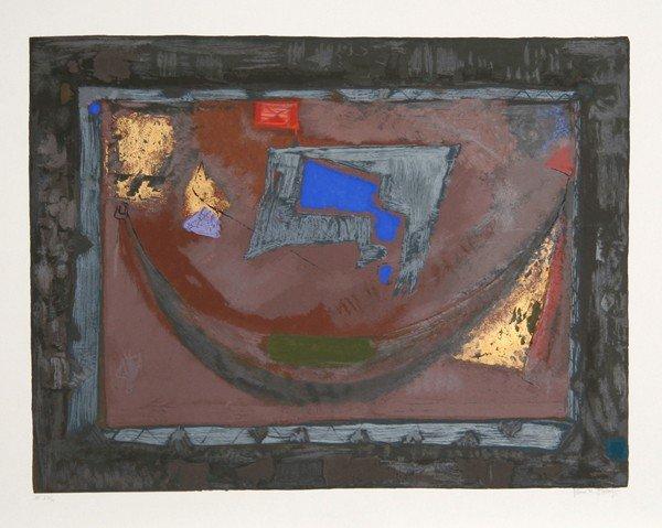 11: Remo Farruggio, Beyond, Lithograph