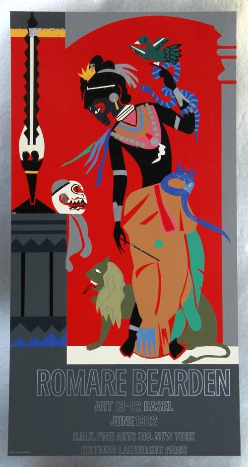 18: Romare Bearden, Odysseus: Circe Exhibition, Poster