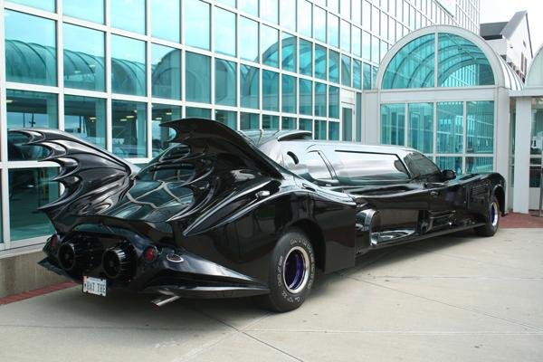 14: Mickey Frome, Batman's Ride, Color Photograph