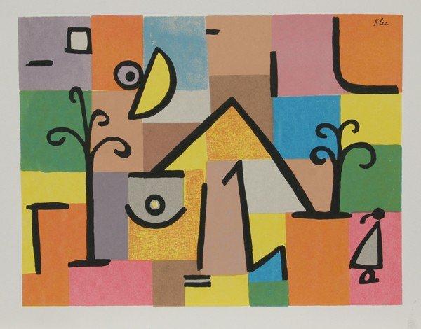 3: Paul Klee, Serigraph Poster
