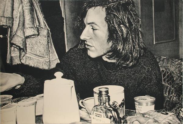 4: Franz Gertsch, Jean Frederic Schnyder from Documenta