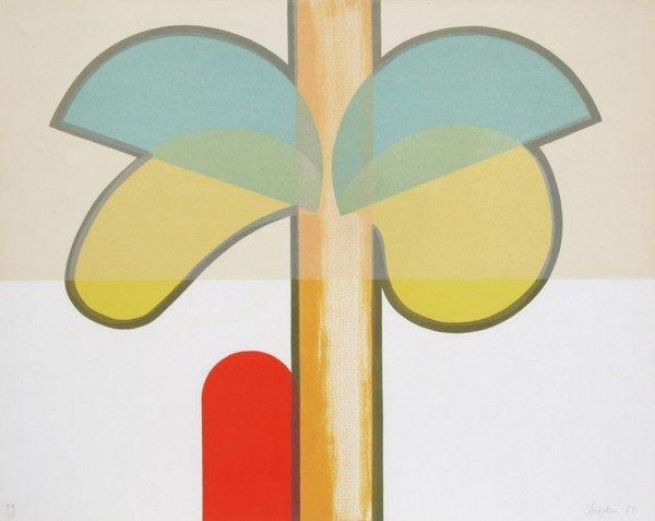 5: Howard Hodgkin, India Tree, Silkscreen