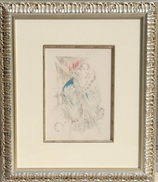 24: Henri de Toulouse-Lautrec, Elsa La Viennoise, Litho