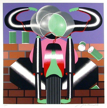 18: Jack Brusca, Ride, Serigraph