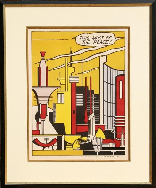 289: Roy Lichtenstein, This Must Be the Place (C. III.2