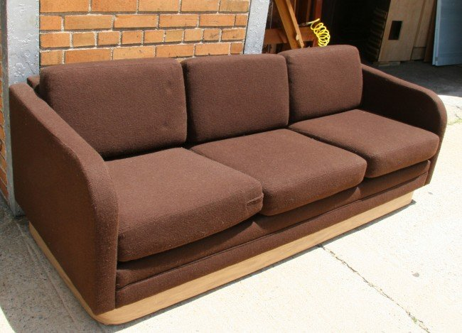 21: Brown Modern Couch