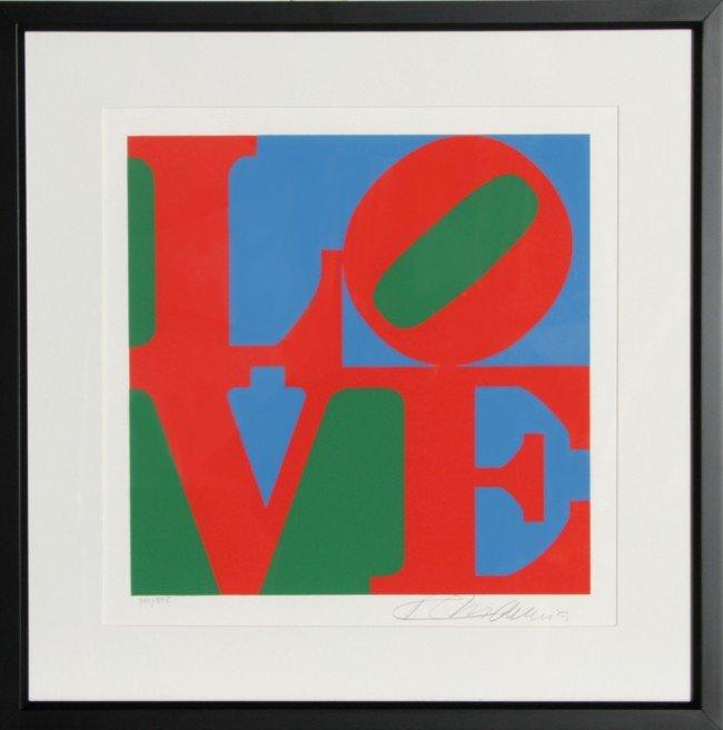 517: Robert Indiana, The American Dream: Love, Serigrap