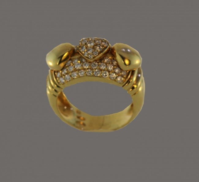 3: Piaget Paris Diamond Heart Design Ring