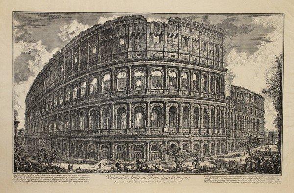 19: Giovanni Battista Piranesi, Vedute di Roma, Etching