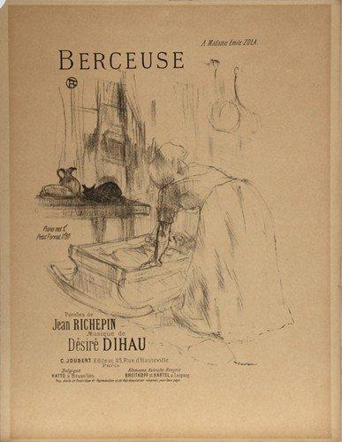 25: Henri de Toulouse-Lautrec, Berceuse, Lithograph