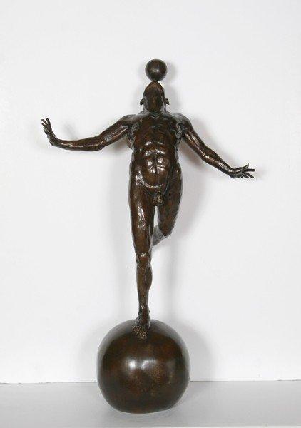 153: Jorge Marin, Acrobate, Bronze Sculpture