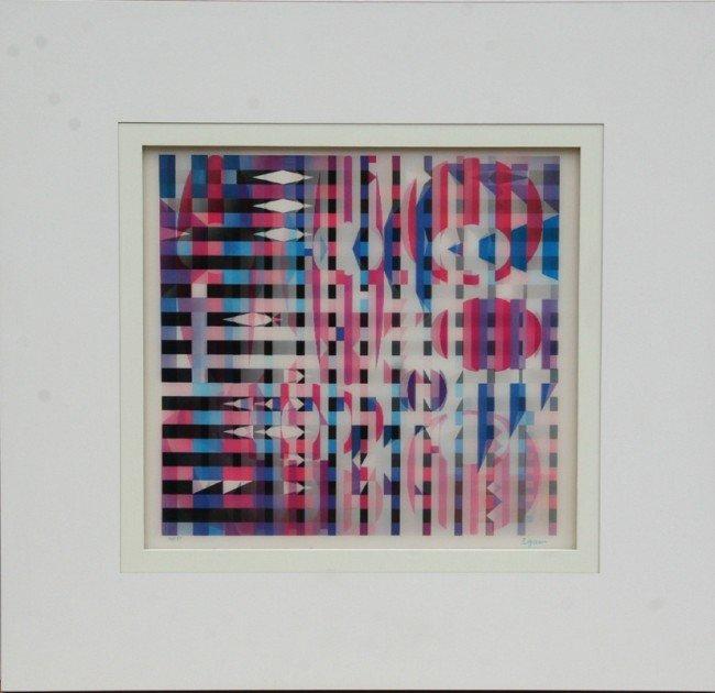 3: Yaacov Agam, Chapultapec, Agamograph