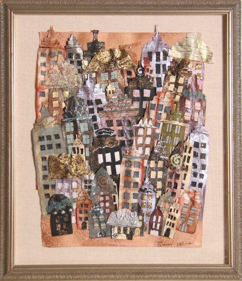 7: Susan Allman, New York City, Collage
