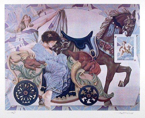 10: Robert Anderson, Heart Dream, Lithograph