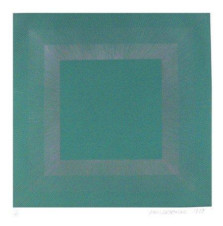 11: Richard Anuszkiewicz, Op-Art Intaglio Aquatint Etch