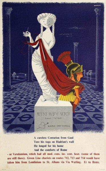 20: John Bainbridge, Verulamium, Poster