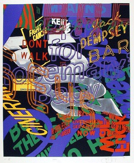 1: Jon D'Orazio, 2001, Serigraph