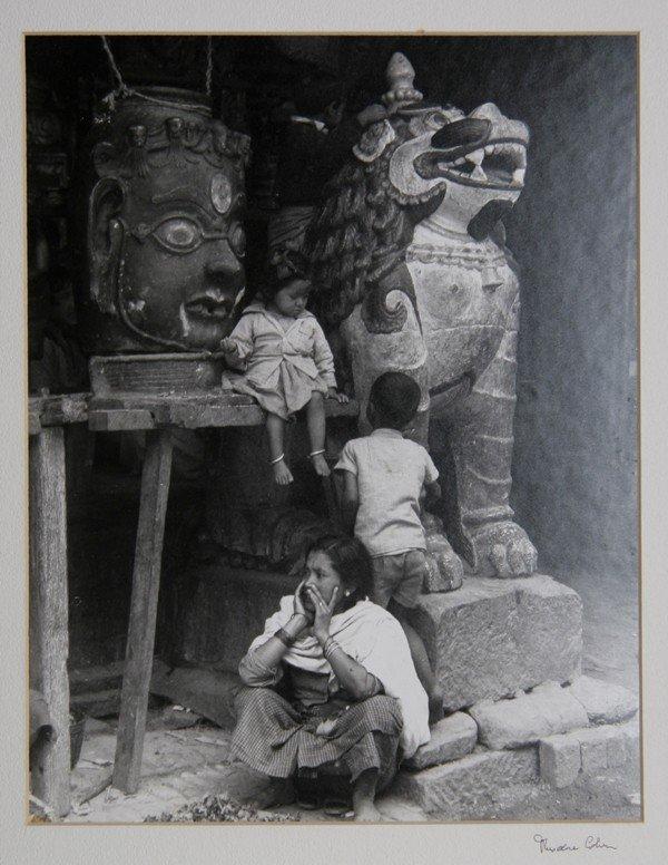 2: Theodore Cohen, A Temple in Kathmandu, Photograph