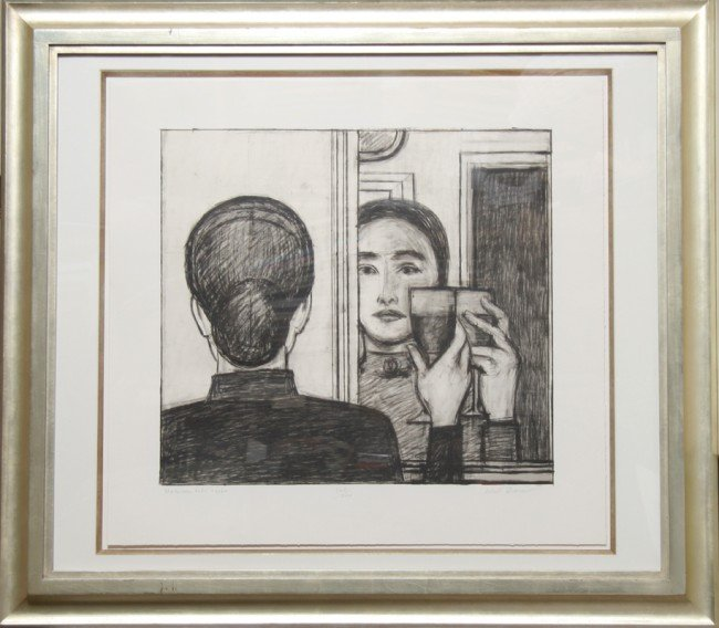 23: Will Barnet, Between Life and Life, Lithograph
