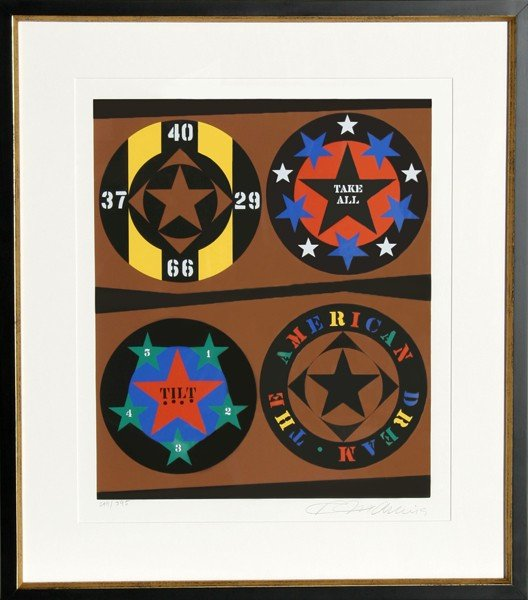 11: Robert Indiana, Tilt from The American Dream Portfo
