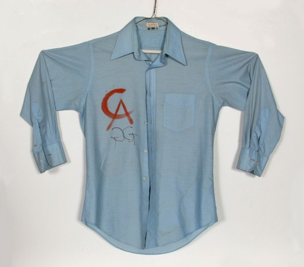 12: Alexander Calder, Painted Workshirt