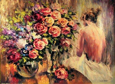 3: Leonid Afremov, Morning, Oil Painting