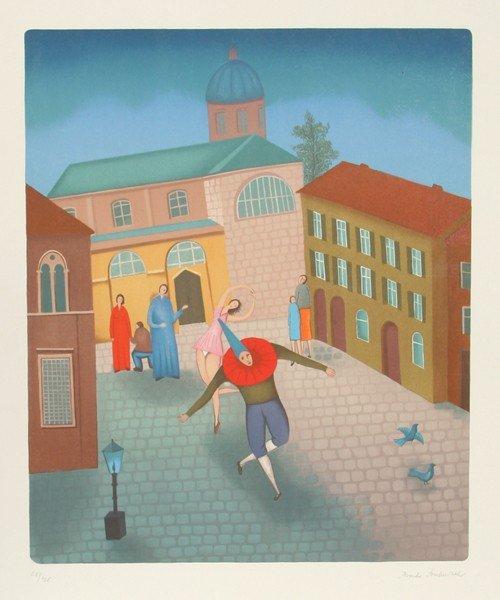 22: Branko Bahunek, Artists, Serigraph