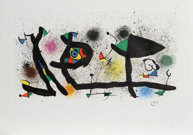 247: Joan Miro, Sculptures, Lithograph
