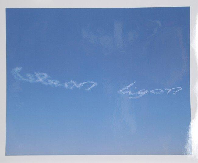 198: Glenn Ligon, En El Cielo, Color C-Print Photograph
