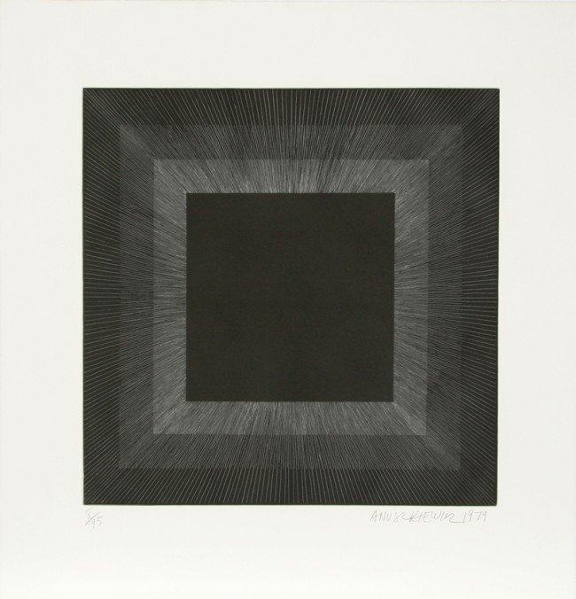 15: Richard Anuszkiewicz, Op-Art Intaglio Aquatint Etch