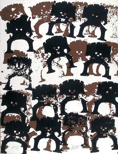 22: Arman, Samurai, Serigraph