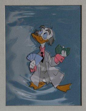 Disney Studios, Scrooge McDuck, Hand-Painted Produ