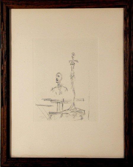 143: Alberto Giacometti, The Search, Etching