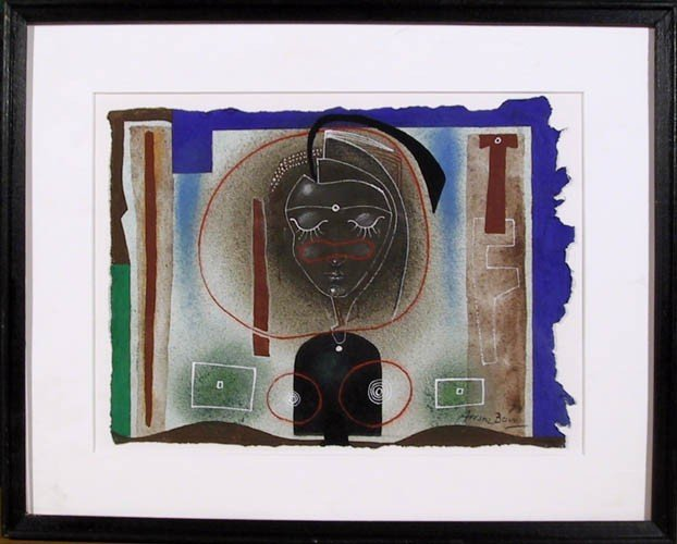 13: Eduardo Arranz-Bravo, Cadaques, Mixed Media Paintin