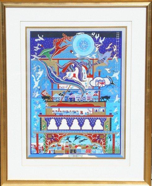 1: Raphael Abecassis, Serigraph