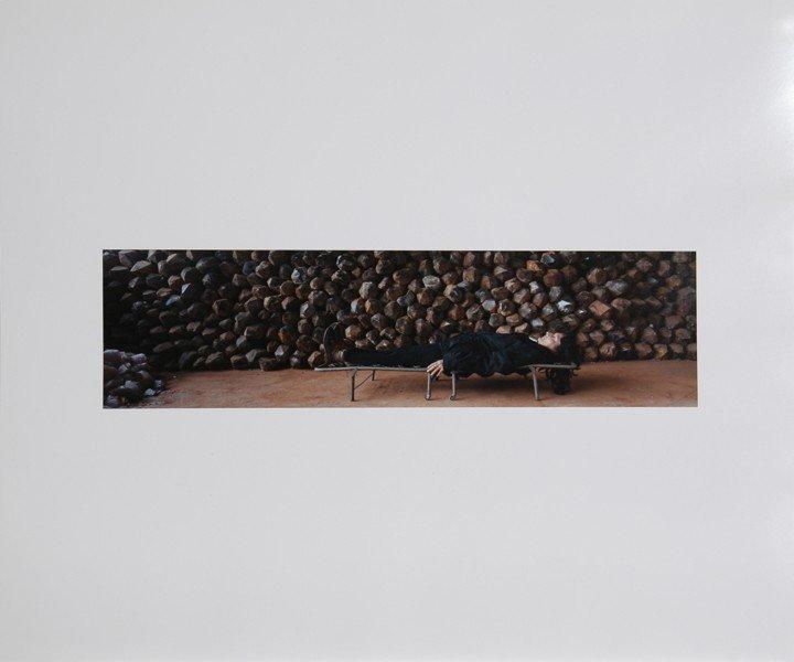 2: Marina Abramovic, Waiting for an Idea, Photograph
