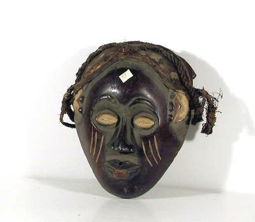 5: African, Mask with Rope - I