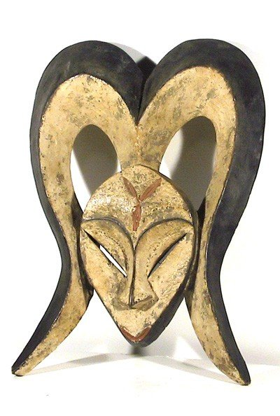 6: African, Mask with Horns I