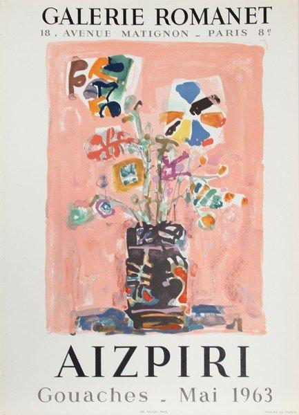 3: Paul Augustin Aizpiri, Exhibition Galerie Romanet 2,