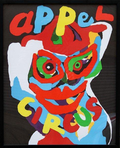 10: Karel Appel, Circus, Lithograph Poster