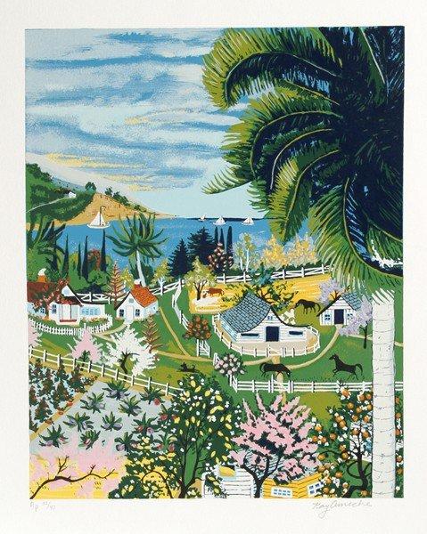 5: Kay Ameche, Malibu, CA, Serigraph
