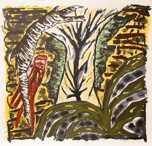 7: Gregory Amenoff, El Santurio de Chimayo, Lithograph