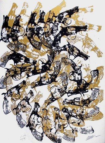 11: Arman, Yang & Bang, Serigraph