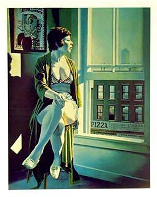 24: Arne Besser, The Street Below, Silkscreen