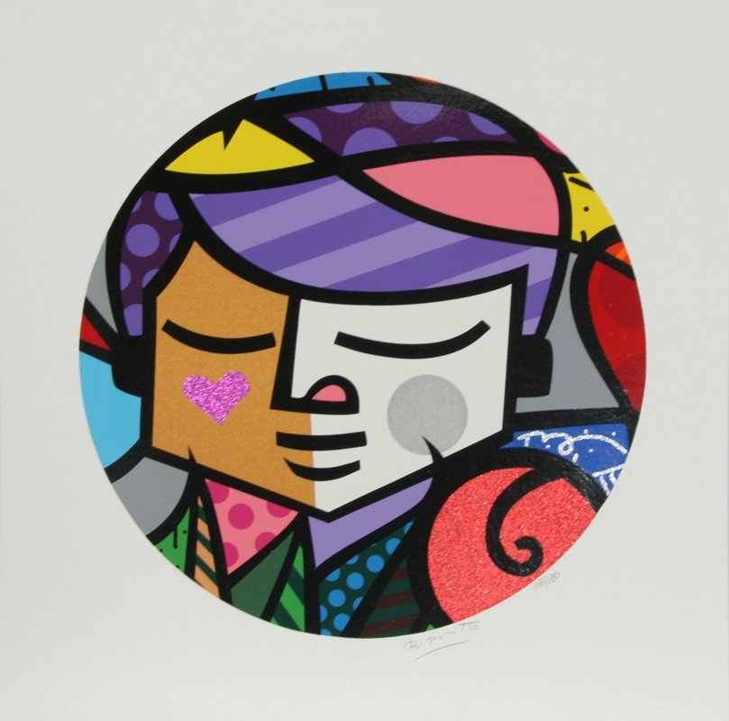 35: Romero Britto, Eros, Serigraph