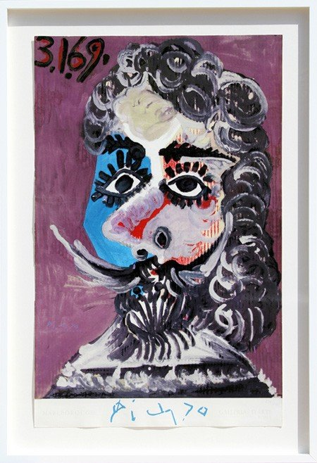 275: Pablo Picasso, Galerie d'Art, Roma, Lithograph