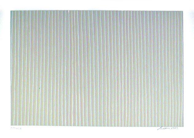 250: Gene Davis, Carousel, Lithograph