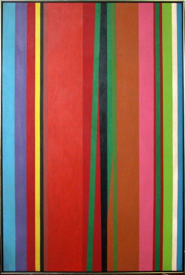 259: Jay Rosenblum, Catch, Oil Painting